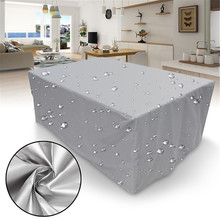 Furniture Cover Waterproof Outdoor Patio Garden Furniture Covers Rain Snow Chair covers Beach Sofa Table Chair Dustproof Cover cheap Modern Furniture Set Cover Polyester Cotton