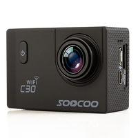 SOOCOO C30 Wifi Action Camera UHD 4K 2.0 Screen Mini Camera 1080P/60FPS 20MP 30M Waterproof Outdoor DV Sports Camcorder