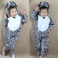 Children Kids Baby Cartoon Animal Dalmatian Dog Costume Cosplay Clothing Children's Day Halloween Costumes Jumpsuit