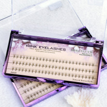 цена на BRILLANT Customized Fanning 5 P 0.07 Premade Volume 3D/4D/5D/6D False Eyelashes Hair Single Plant 75 Grafting Eyelashes