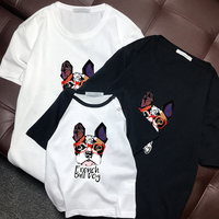 mom and daughter matching clothes cartoon family matching T shirt pure cotton summer 3pcs per set