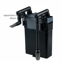 1 sztuka SUNSUN HBL 802 6W czarny łatwy W użyciu naścienny filtr zewnętrzny do akwarium sprzęt do filtrowania akwarium