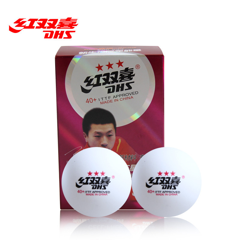 цена на Wholesales link - 60 Balls DHS 40+ Seamed 3-Star Table Tennis Balls New Material Plastic Ping Pong Balls ITTF Approved