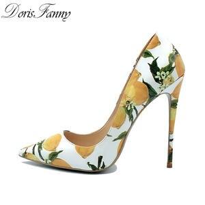 Doris Fanny Women Stiletto Sexy High Heels pumps 337e34201b3d