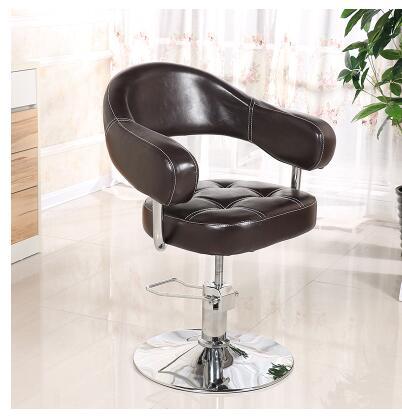 Купить с кэшбэком Hairdressing retro iron industrial wind hair chair.salon barber .35226