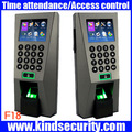 Biometric Building Management System ZK F18 Biometric Fingerprint Access Control and Time Attendence Security System for Door
