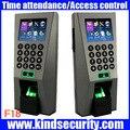 Sistema de Gestión de Edificios biométrica ZK F18 Sistema de Seguridad Biométrico de Huellas Digitales de Control de Acceso y Tiempo Attendence para Puerta