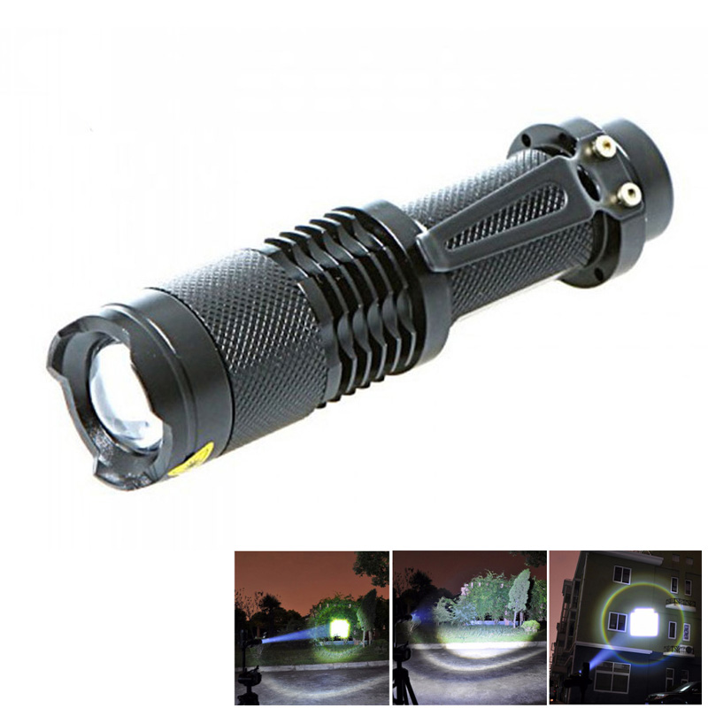 XML-T6 5-mode 2000 Lumens Zoomable LED Lamp Tactical Flashlight Torch Penlight Night Led Campin Light Shop CLH