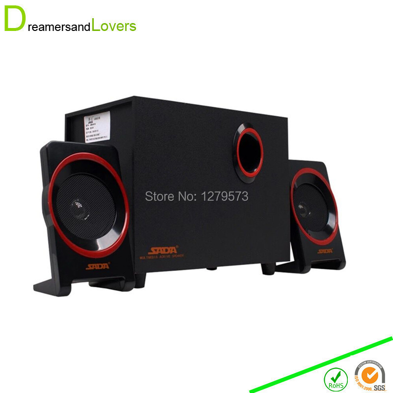 2.1 Computer Speaker System with Powered Subwoofer for Desktops , Laptops , Tablets , MP3 Players , Home Theaters & More Black