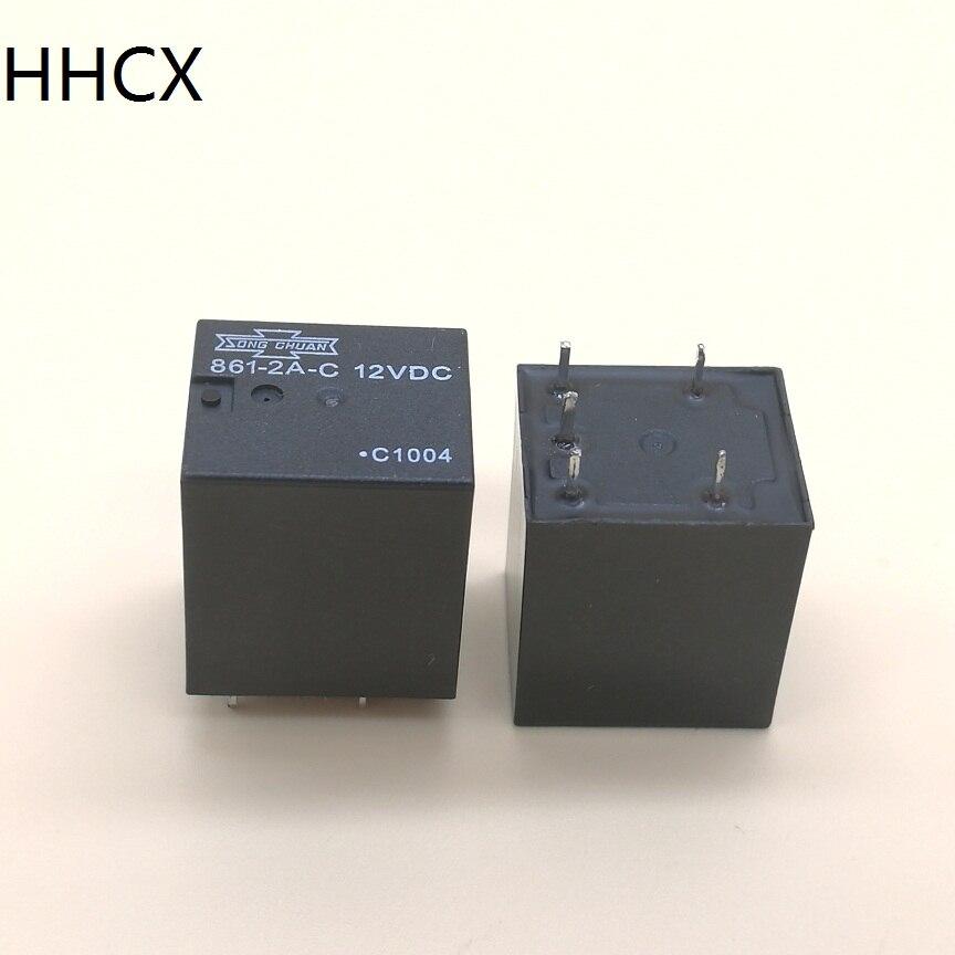 1PCS 861-2A-C 12VDC Relay
