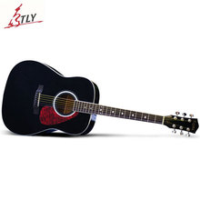 New SAYSN  41″ Basswood Acoustic Novice Beginners Guitar Rosewood Fingerboard Guitarra for Men Women Student Two Colors