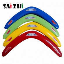 Saizhi 1 pcs Child Funny V Shaped Boomerang Returning Throwback Whistler Toy Outdoor Toys Sports SZ0902