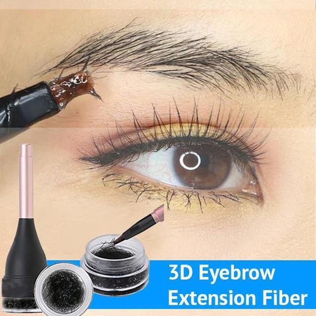 3d Eyebrow Extension Fiber Waterproof Instant Eyebrow Eyelash Hair