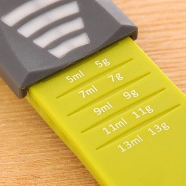 Plastic Scale Measuring Spoon Baking Milk Powder Kitchen Accessories