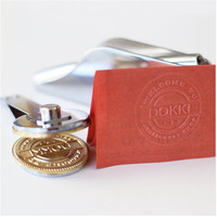 Customize Logo Embossing Seals Embossing Stamp Personalized Embossing Seal For Letter Head Wedding Envelope Stamp
