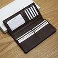 LAN Men's wallet leather men long wallet bag men's wallet leather handmade wallet