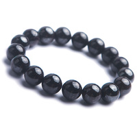 Genuine Natural Sugilite Round Stone Beads Jewelry Stretch Women Lady Crystal Bracelet 12.5mm