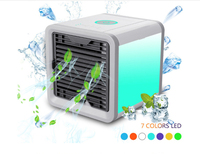 Small cooling fan office humidifier USB mini air conditioner portable humidifier air purification three speed regulatio 375ML