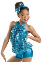 Children's Adult Jazz Dance Costumes Sequins Stage Costumes Modern Jazz Onesies Dance Wear