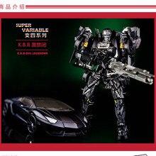 Робот 18 см трансформация 5 последний рыцарь темная версия kbb металлическая часть злой локатор фигурка обучающая игрушка Подарки