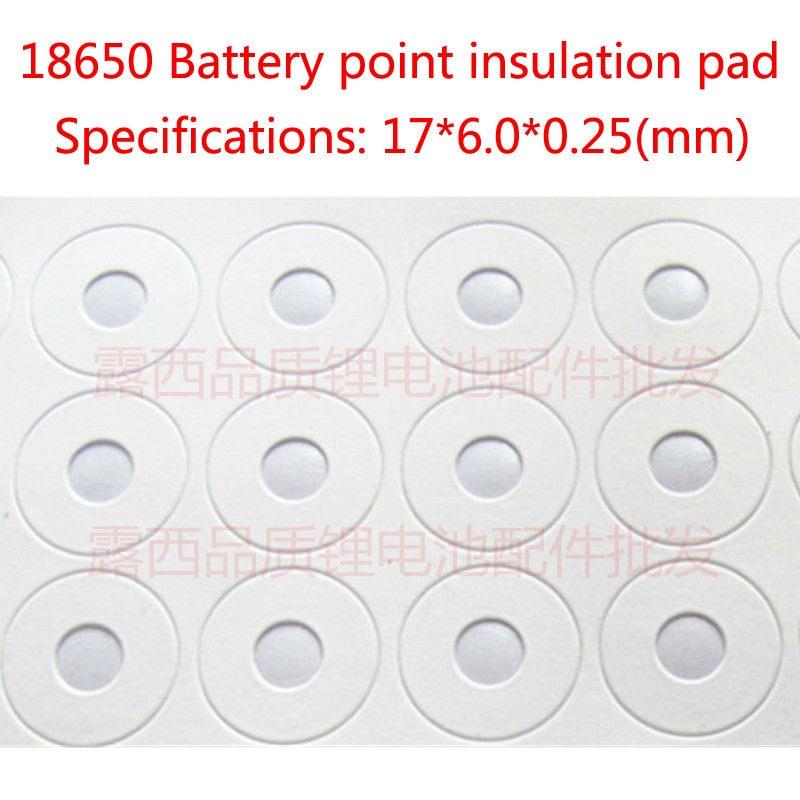 Купить с кэшбэком 100pcs/lot Manufacturers wholesale 18650 lithium battery anode can spot 18650 lithium battery cap pointed tip cap