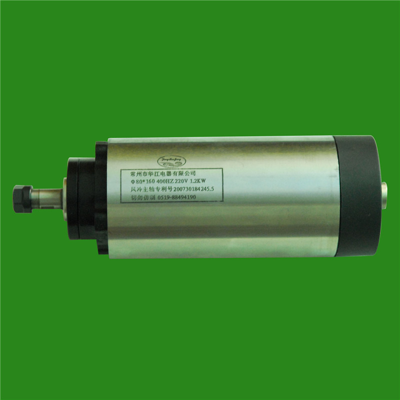 1.5HP 1.2kw 24000RPM ER11 Woodworking AC Spindle motor 4 bearings 80mm 220VAC 8A 400HZ air cooling CNC Router cnc spindle 1 5kw gdz 80 1 5f air cooling spindle 220v 5a chuck nut er11 diameter 80mm 400hz 24000rpm use for cnc router machine