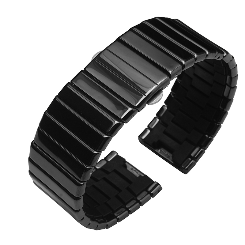 Watchbands , 19mm 24mm 27mm Ceramic watch strap bracelet men and women fashion  watchbands