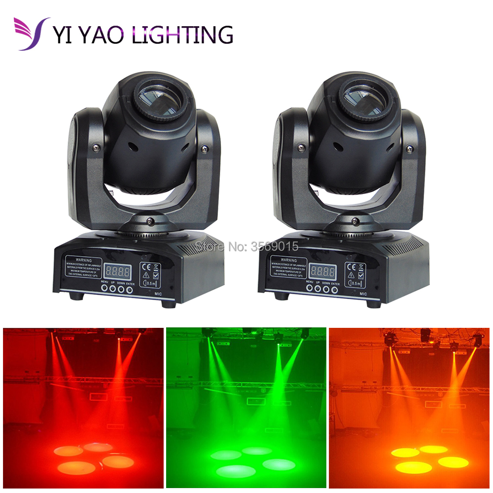 2pcs/lot moving led 10W mini led spot moving head light Mini Moving Head Light 10W DMX dj 7 gobos effect stage free shipping 2pcs lot led moving head light edison led 3w aluminum hose flexible star hotel retrofit chrome finish