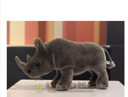 African rhino doll Rhino plush toys plush toys modelling of foreign trade African grassland animals плед foreign trade 200 220cm
