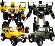 Деформация игрушки Детектив V класса желто-зеленый автомобиль детские игрушки