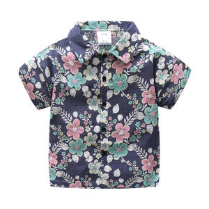 Years Kids Clothes 2018 Summer Cotton Boys Shirt