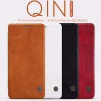 Nillkin Genuine Wallet Leather Case Cover For Oneplus Two Phone Bags Skin Case For One Plus