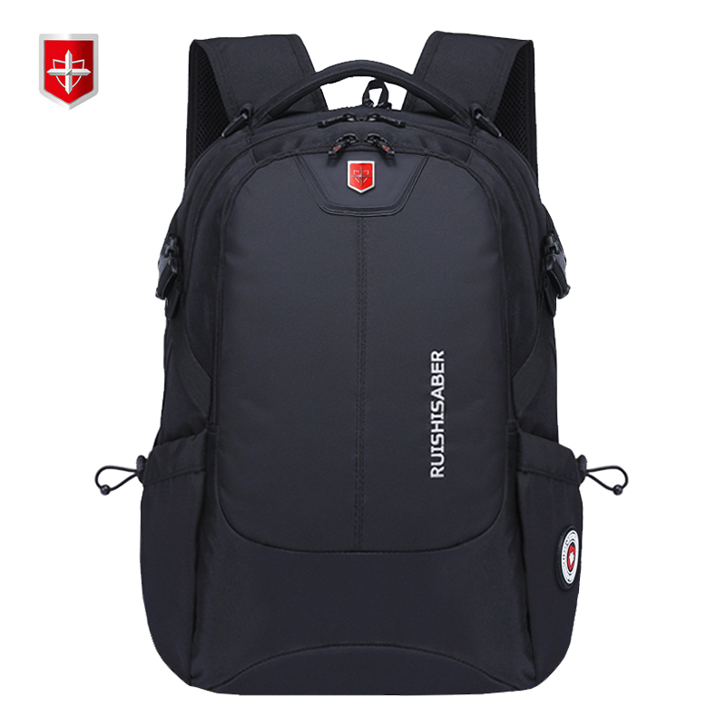 New brand Swiss Waterproof men s Backpack anti theft External USB charge port for 15 17