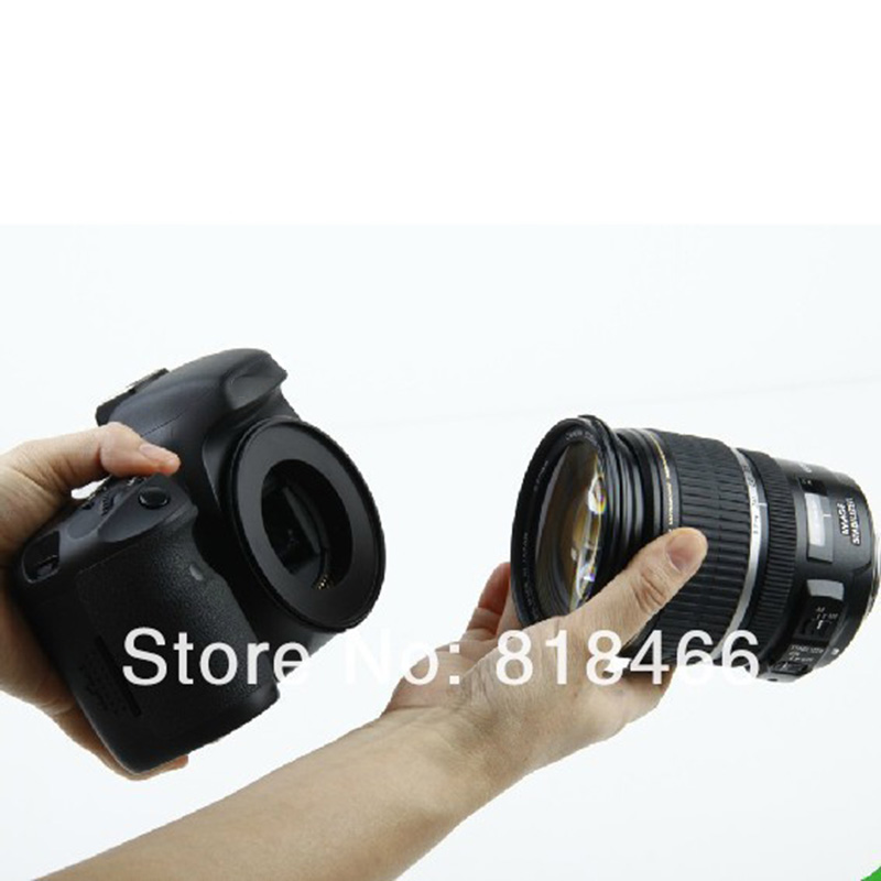 camera reverse adapter ring for canon 58mm Macro Reverse lens Adapter Ring for CANON EOS EF Mount 550d 650d 450d 700d 1000d lens mount adapter ring for pentacon 6 kiev 60 lens to canon eos ef mount adapter 700d 650d 600d 550d 60d 7d
