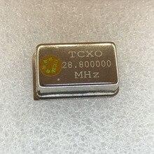 1 unids/lote 28,8 MHz TCXO28.8MHz 28,800000 MHz 28,800000 M 0.1PPM TCXO activo, oscilador de cristal DIP4 nuevo/rápido shipping2018 +