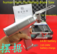 Medical Orthopedic Instrument Joint Oscillating Bone Saw Power Tool 14 4 V High Temperature Sterilization Femoral
