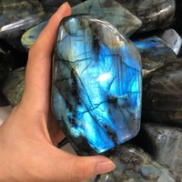AAA polished labradorite stone labradorite rough decorations with blue flash 800 100KG