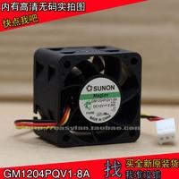 새로운 SUNON GM1204PQV1-8A 4 cm 4028 1U2U 서버 12 V 2.8 W 냉각 팬