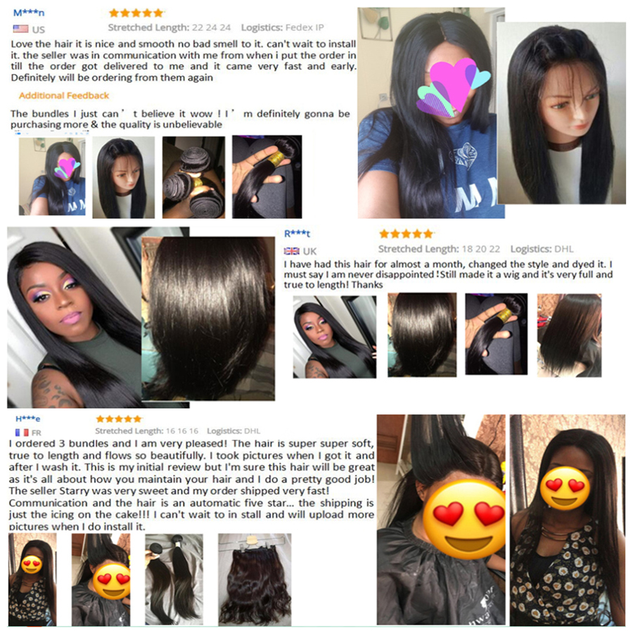 RXY-Brazilian-Hair-Bundle-Double-Weft-Silky-Straight-Hair-Bundles-100-Remy-Human-Hair-Extension-Full