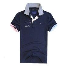 Hot Brand Men Summer Eden Park Short Polos Clothing 100% cotton Camisa Letter 10 Men's Casual Sportswear Breathable Polo Shirts