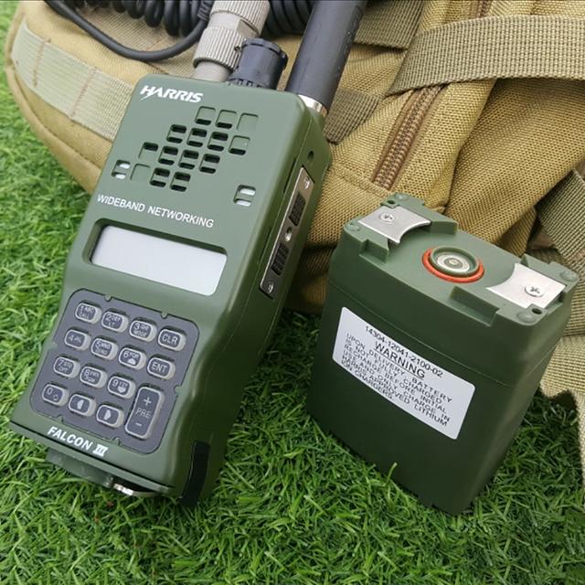 TCA AN/PRC-152A (УФ) тактический CS военные MBITR IPX7 УКВ Многофункциональный Walkie Talkie сестра Харрис TRI PRC-152