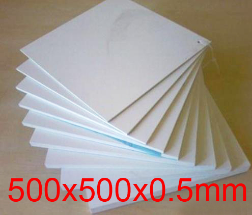 500mm length 500mm width 0.5mm thickness Teflon plate
