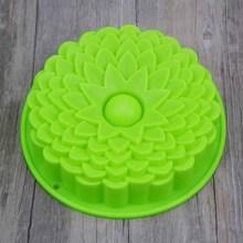 Flower Shape Silicone Mold For Baking Cake Form Bakery Molds Bakeware Cakes Bread Pan Chriatmas