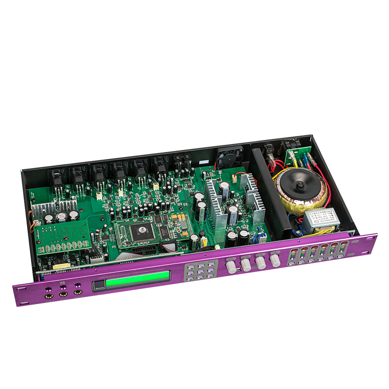 DSP Professional Power Karaoke designed Preamp With 99 Digital Reverb Effects Adjustment Loudspeaker Without Noise for Stage X6 in Stage Audio from Consumer Electronics