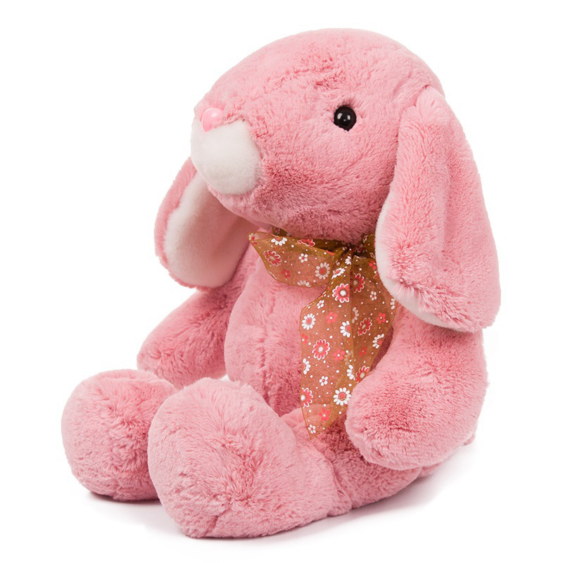 50cm Big size bunny rabbit plush kids toys for children,kawaii soft stuffed dolls Girls Gift cute rabbit dolls plush toys luminous love bunny dolls girls birthday gift 100cm