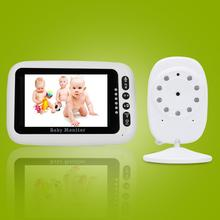 Newest Baby Monitor,3.5 inch LCD Screen Display Infant Night Vision Camera,Two Way Audio,Temperature Sensor,ECO Mode,Lullabies цена и фото