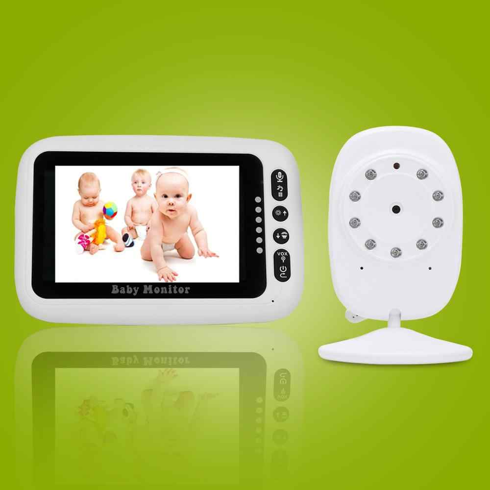 Newest Baby Monitor,3.5 inch LCD Screen Display Infant Night Vision Camera,Two Way Audio,Temperature Sensor,ECO Mode,Lullabies