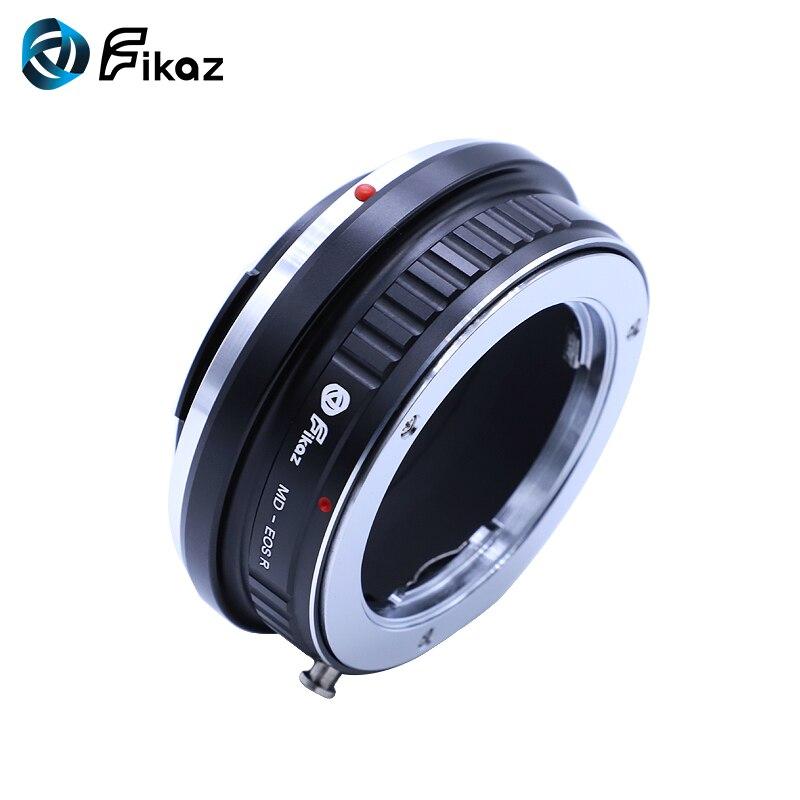Fikaz pour MD-EOS R caméra adaptateur de montage d'objectif pour Minolta MD objectif à Canon EOS R RF caméra de montage - 3