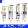 2017 New year G9 LED lamp 7W 9W 10W12W LED Lamp G9 SMD 2835 3014 ac220v CREE LED light 360 degree Beam Angle led spotlight lamps