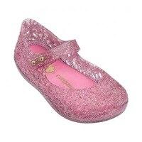 Melissa Ultragirl Campana 2019 Girl Sandals 2019 Jelly Sandals Kids Sandals Children Beach Shoes Non slip Toddler Shoes